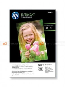 Фотобумага Hewlett Packard Q5441A HP Everyday Glossy Photo Paper-100 sht/10 x 15 cm plus tab,  170g/m2